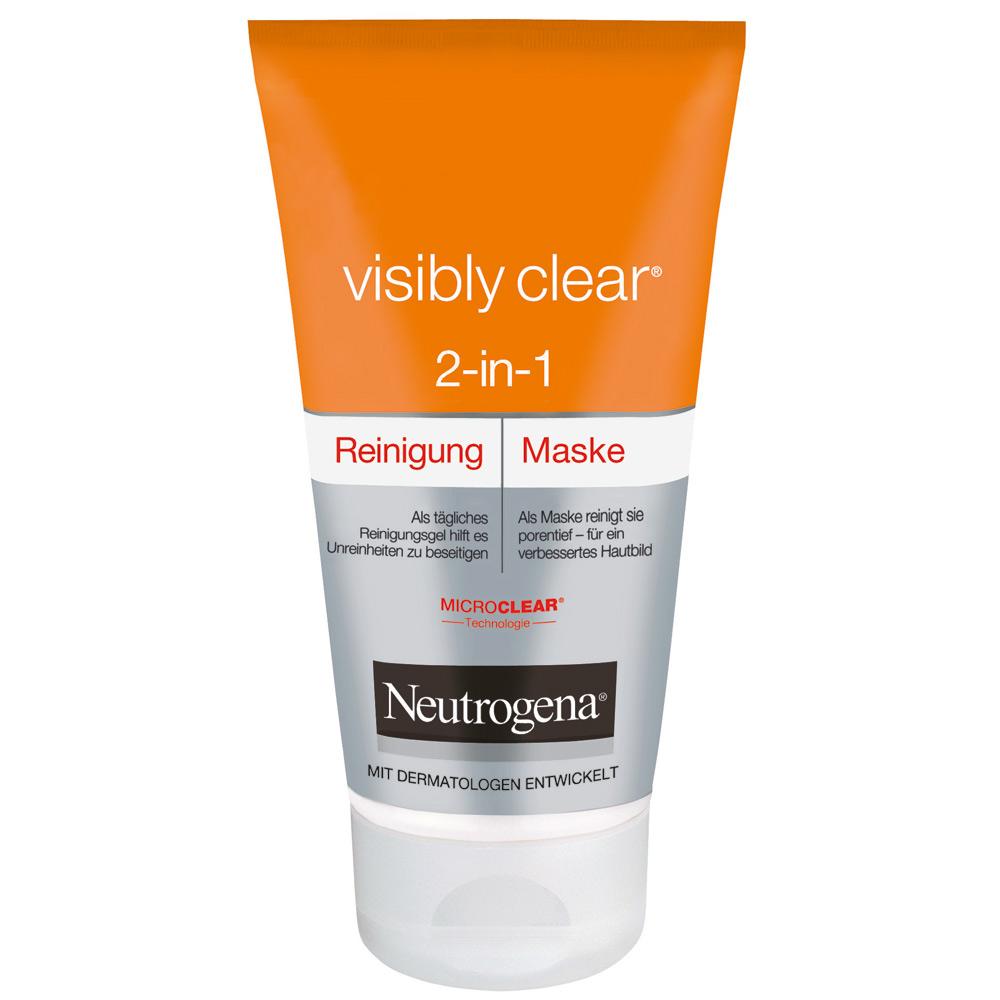 sữa rửa mặt Neutrogena 2in1 dành cho da mụn