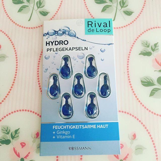 Viên nang dưỡng da cấp nước , dưỡng ẩm , mịn và sáng da Rival de loop Hydro