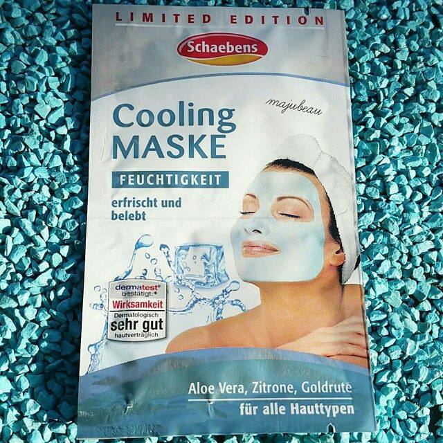 Mặt nạ làm mát da Schaeben Cooling Maske