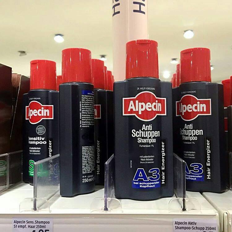 Dầu gội đặc trị gàu Alpecin A3 dành cho cả nam và nữ
