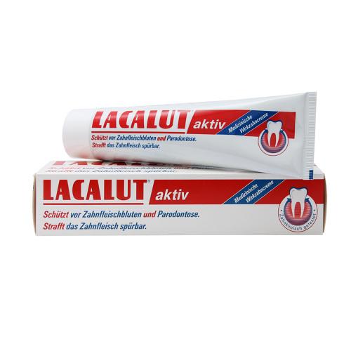 Kem đánh răng Lacalut giảm chảy máu chân răng , chống sụt lợi , giảm đau buốt răng