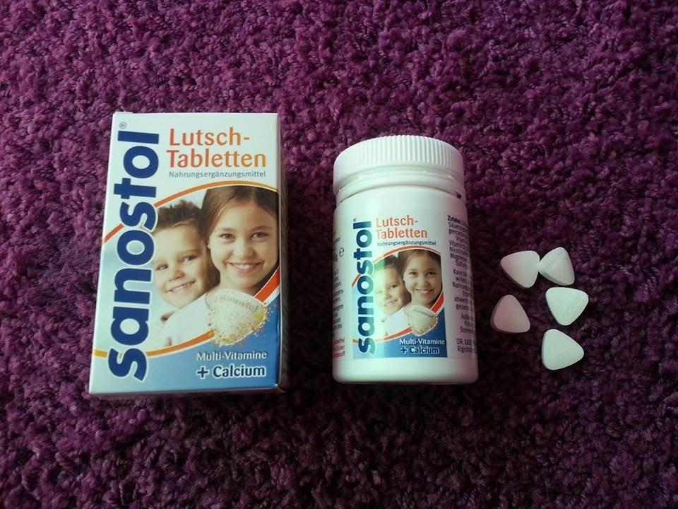 Viên ngậm bổ sung Canxi và Vitamin tổng hợp cho bé trên 4 tuổi