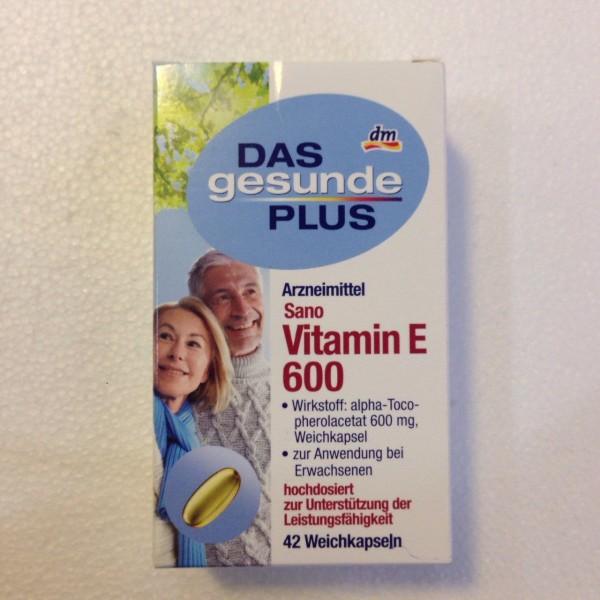 Thực phẩm chức năng bổ sung Vitamin E
