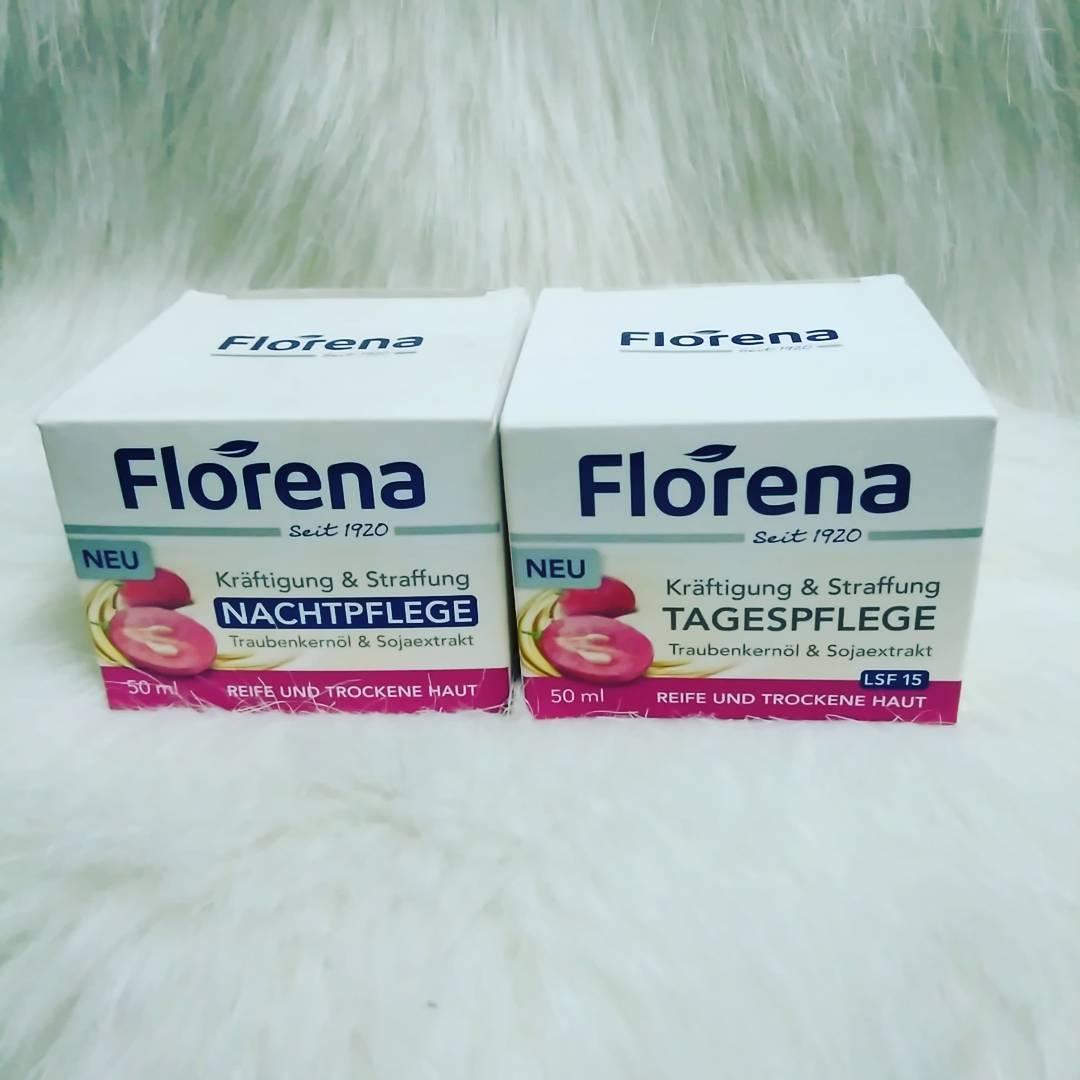 kem dưỡng làm săn chắc và sáng da Florena dành cho da khô hương nho