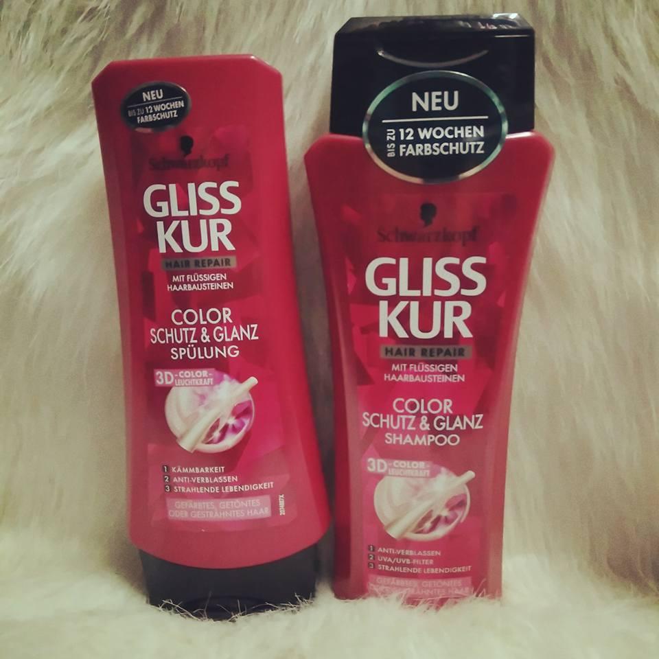 Gôi xả Gliss dành cho tóc nhuộm,giữ màu tóc lâu phai