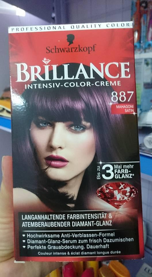 thuốc nhuộm brillance 887 tím
