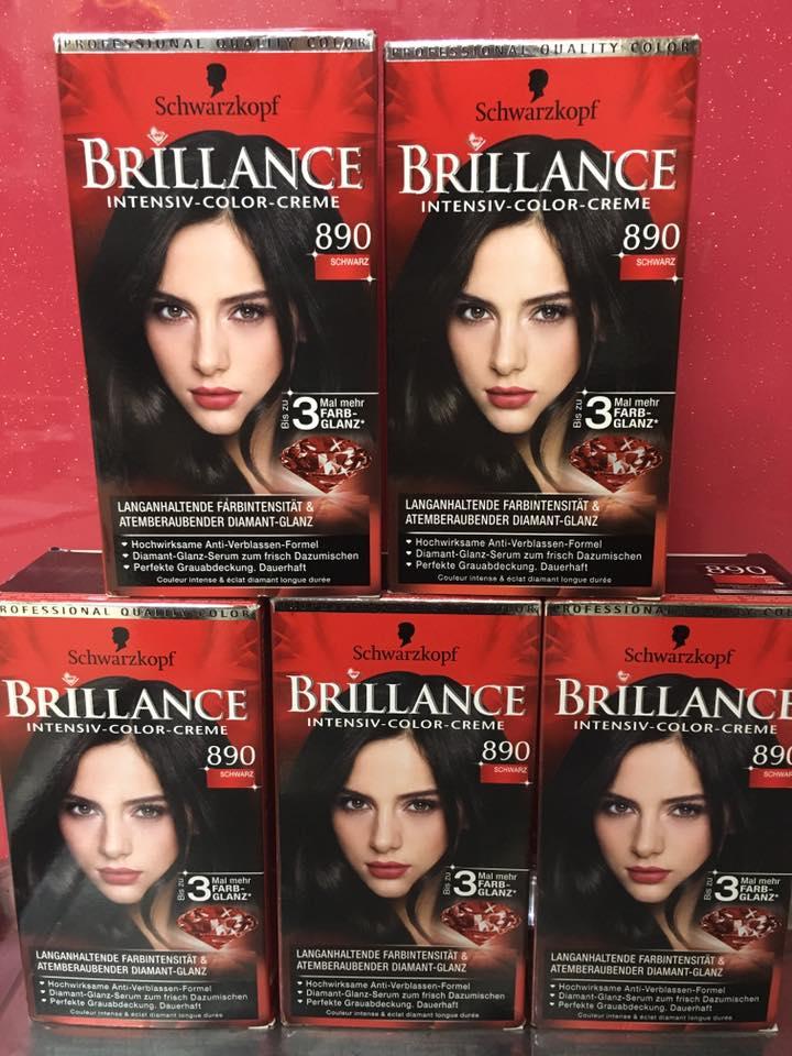 thuốc nhuộm brillance 890 đen