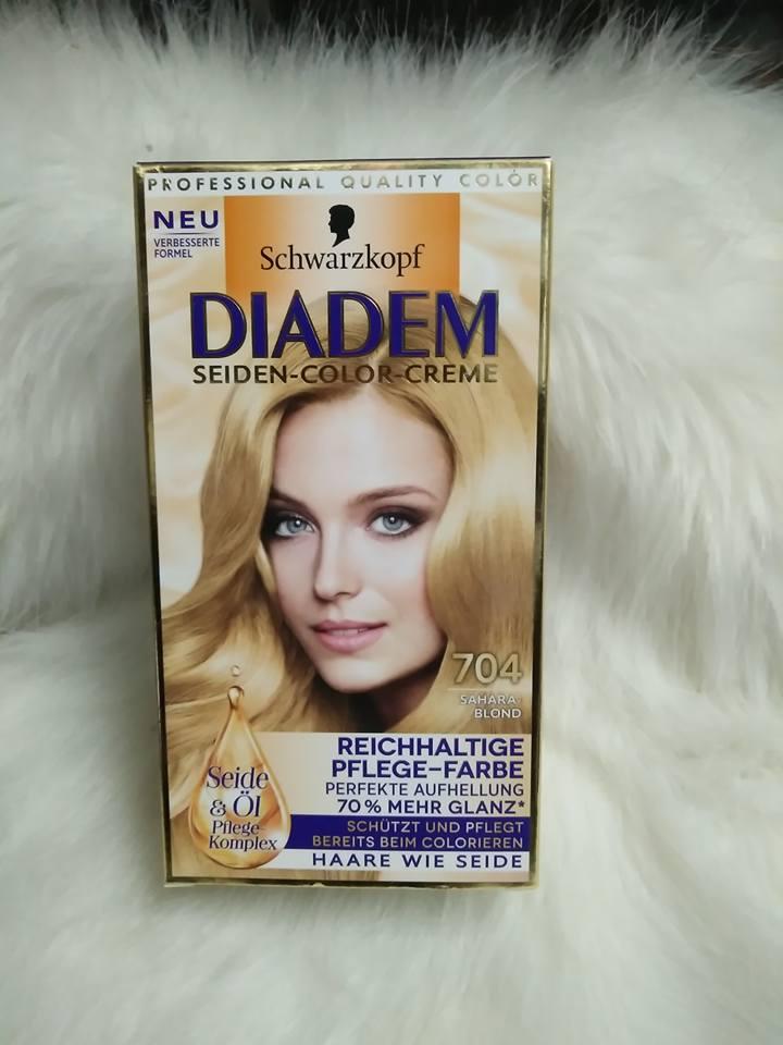 Thuốc nhuộm tóc Schwarzkopf Diadem 704 vàng ( sale )