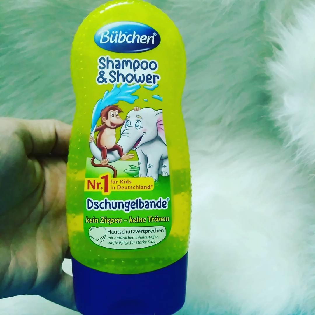 sữa tắm bubchen cho bé hương chanh leo