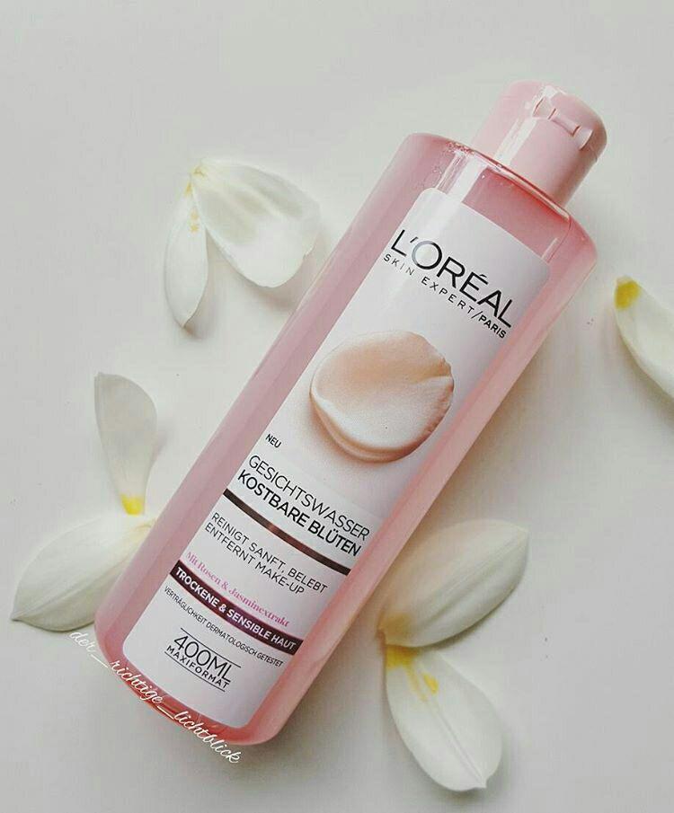 Nước hoa hồng Loreal dành cho da khô và nhạy cảm