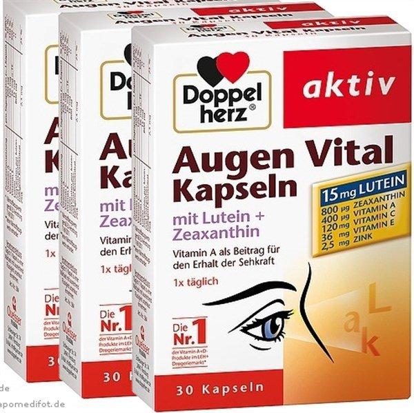 Thuốc bổ mắt Augen Vital Kapseln doppel herz