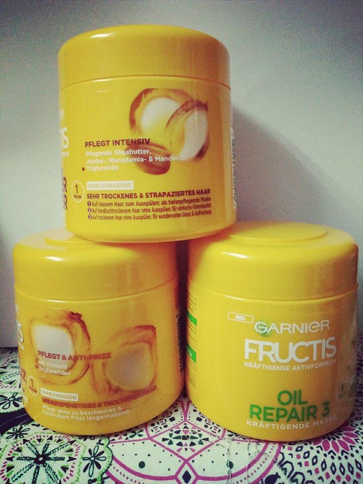 Kem ủ tóc Garnier Fructis dành cho tóc khô và hư tổn