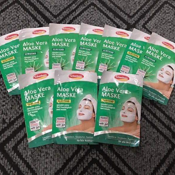 Mặt nạ lô hội Schaebens tăng độ ẩm, chăm sóc chuyên sâu cho tất cả các loại da.