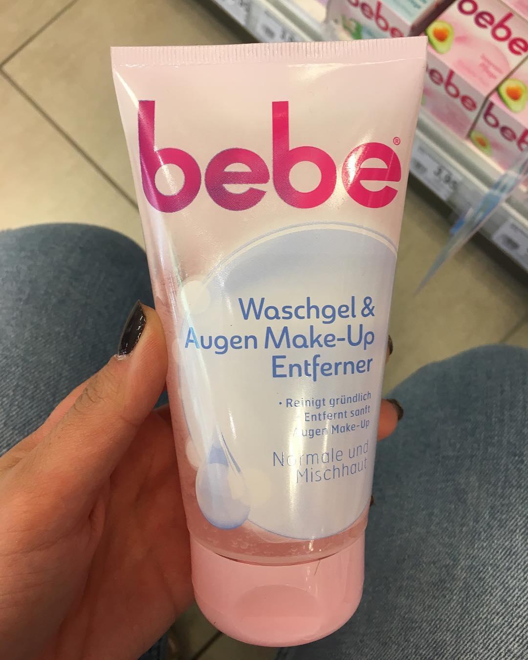 Sữa rửa mặt  kết hợp tẩy trang Bebe young care