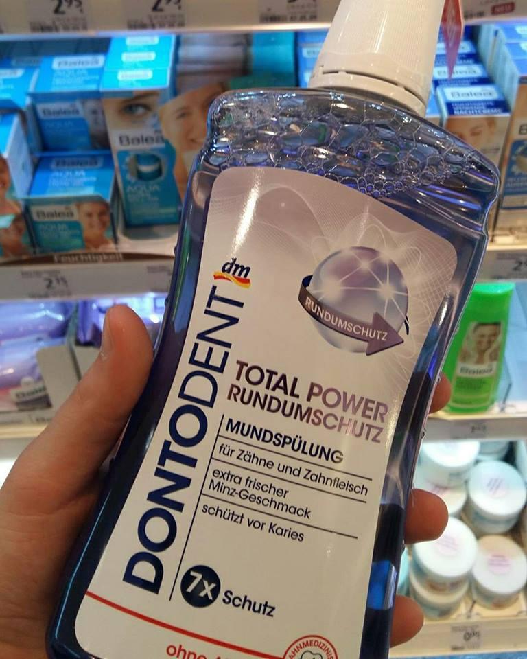 Nước súc miệng Dontodent