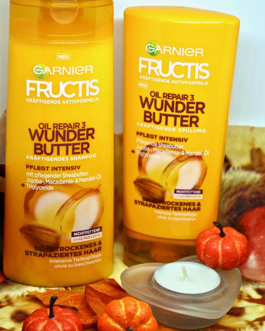 Cặp gội xả Garnier bơ hạt mỡ cho tóc khô + hư tổn