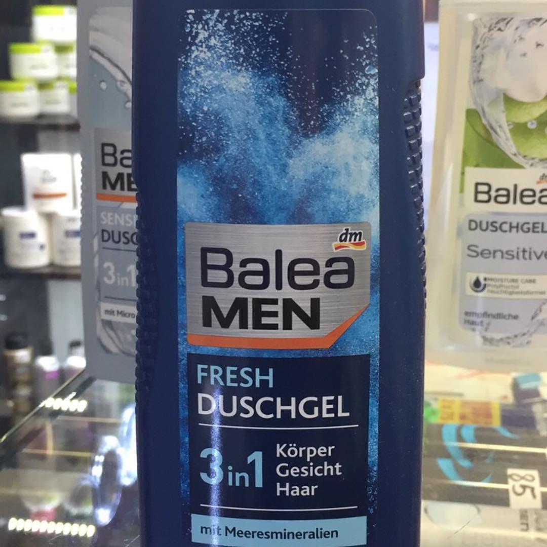 Sữa tắm -gội- rửa mặt Balea Men 3in1