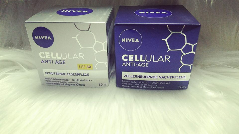 bộ kem dưỡng ngày đêm chống lão hóa Nivea Cellular