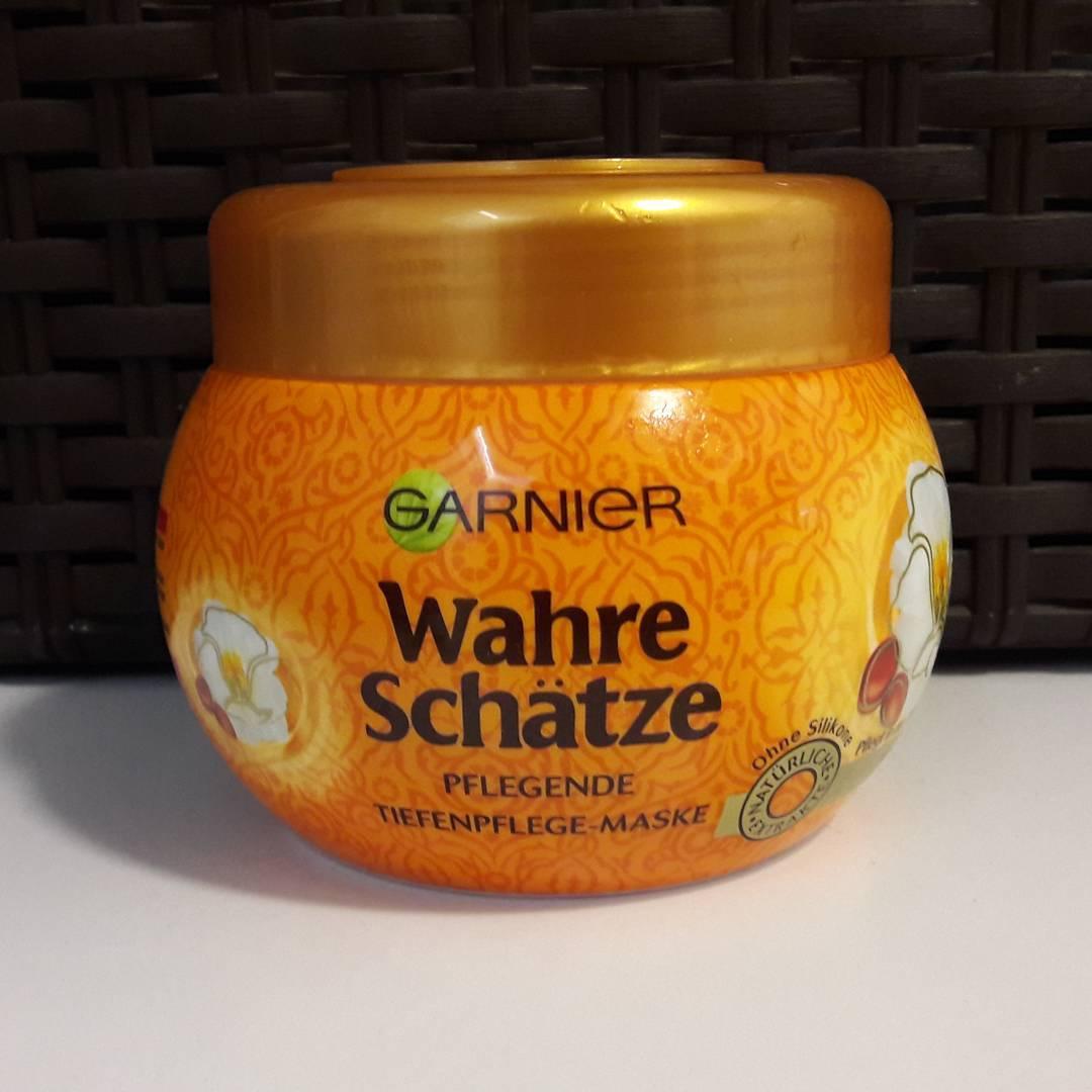 Ủ tóc Garnier Wahre Schatze hoa anh đào dành cho tóc khô và hư tổn