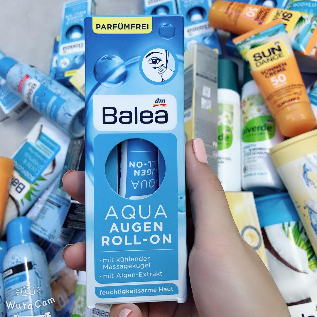 Lăn dưỡng mắt Balea Aqua giảm bọng mắt
