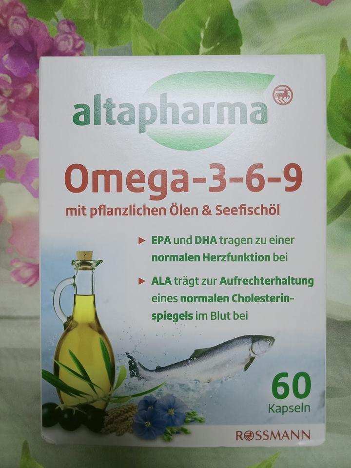 Dầu cá altapharma omega-3-6-9