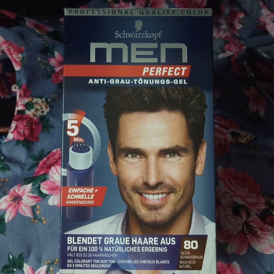 Thuốc nhuộm tóc phủ bạc cho nam Schwarzkopf Men Perfect