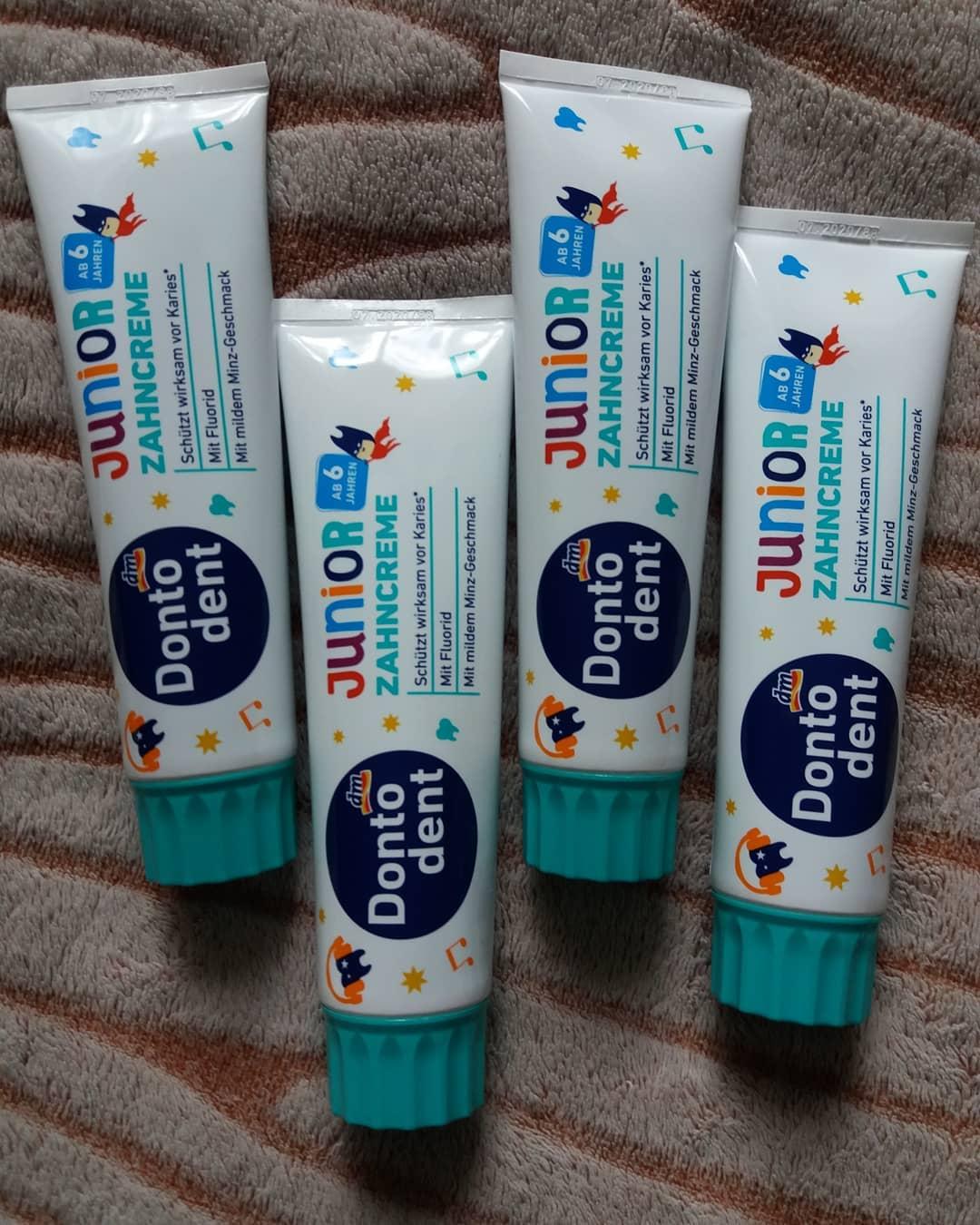 Kem đánh răng Dontodent cho bé trên 6 tuổi hương bạc hà