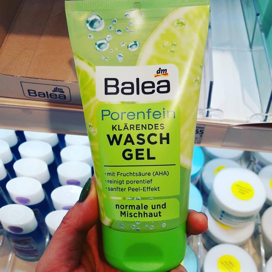 Sữa rửa mặt Balea chanh dành cho da hỗn hợp - da nhờn.
