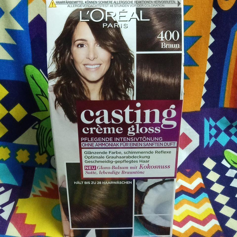 Thuốc nhuộm tóc Loreal Mã : 400 - nâu tự nhiên - phủ bạc