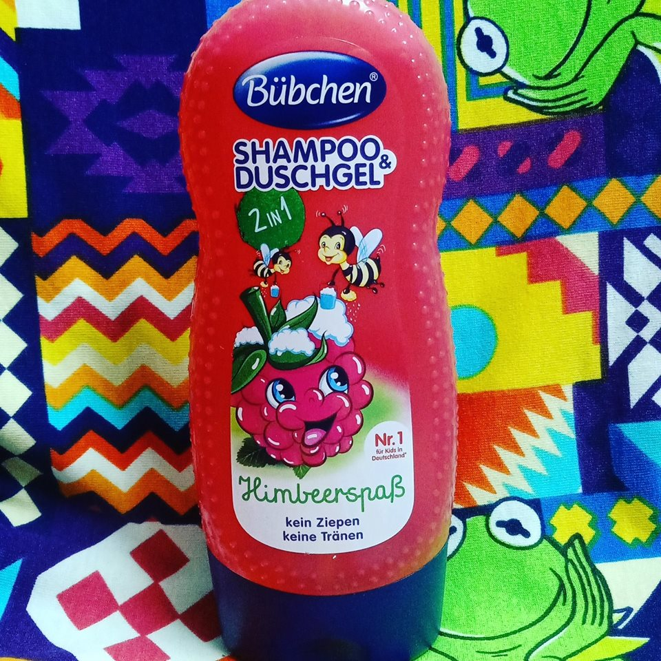 Tắm + gội cho bé hương quả mâm xôi
