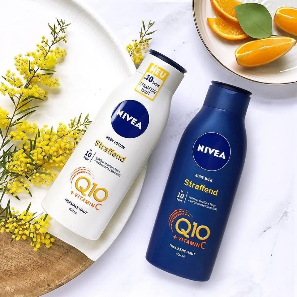 dưỡng thể Nivea q10 săn chắc cơ thể và trắng da