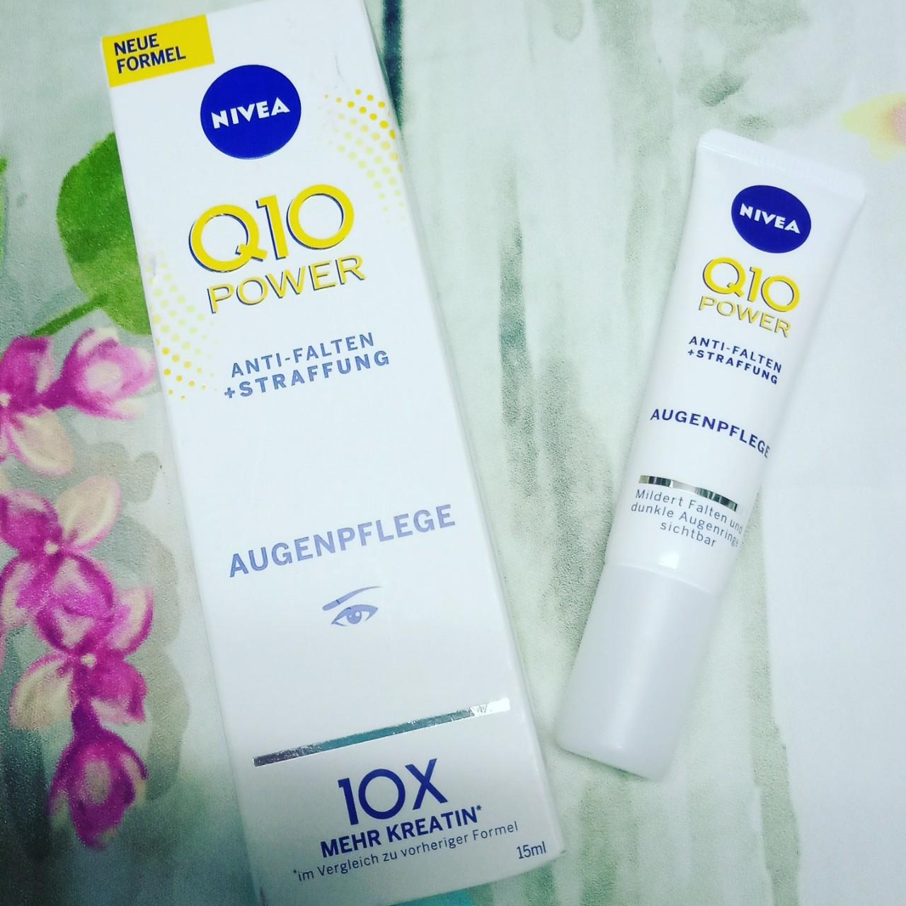 kem dưỡng mắt giảm nếp nhăn Nivea Q10