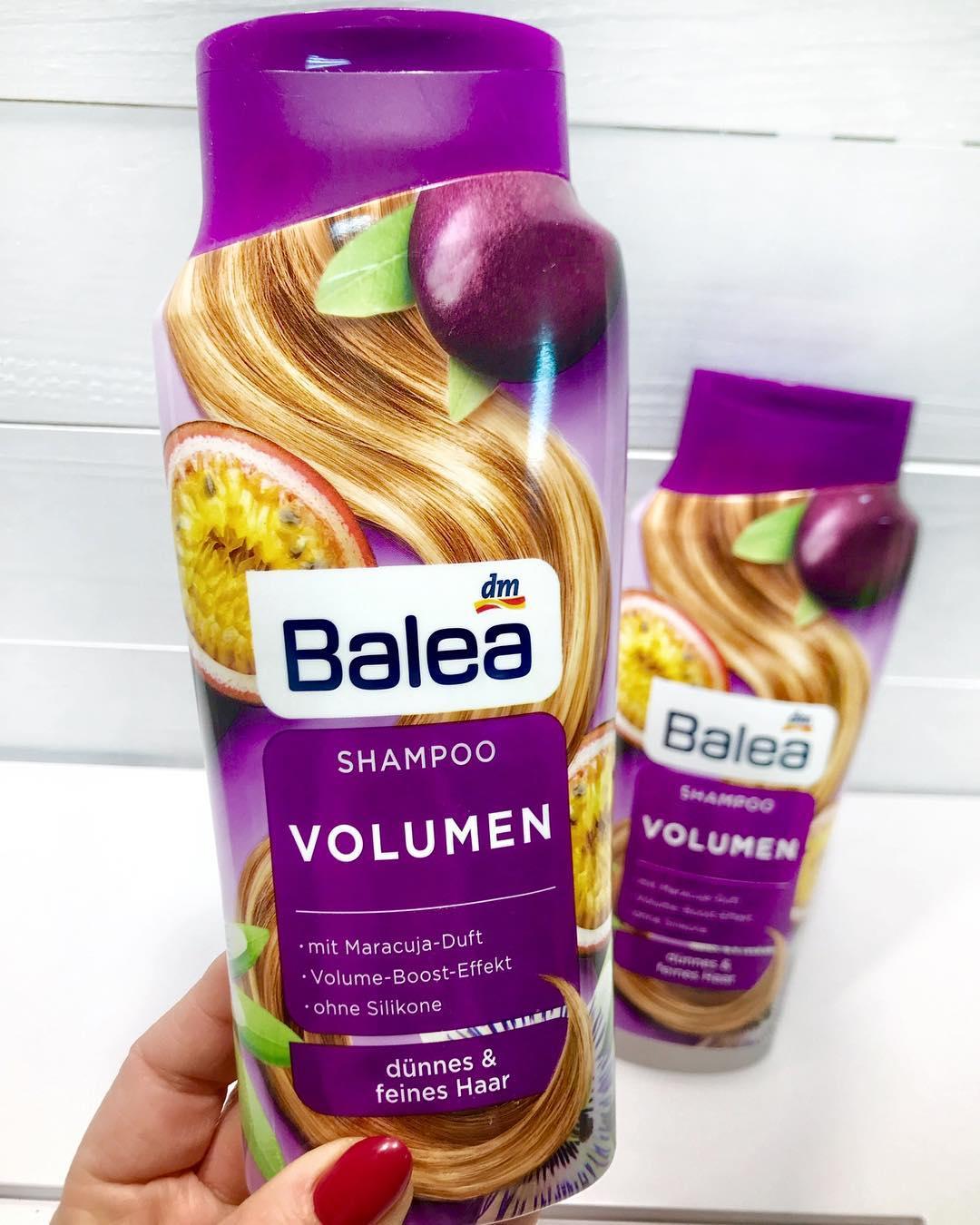 Dầu gội Balea phồng tóc hương chanh leo