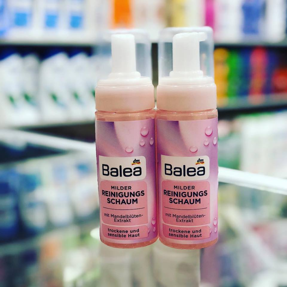 Sữa rửa mặt dạng bọt Balea cho Da khô và nhạy cảm
