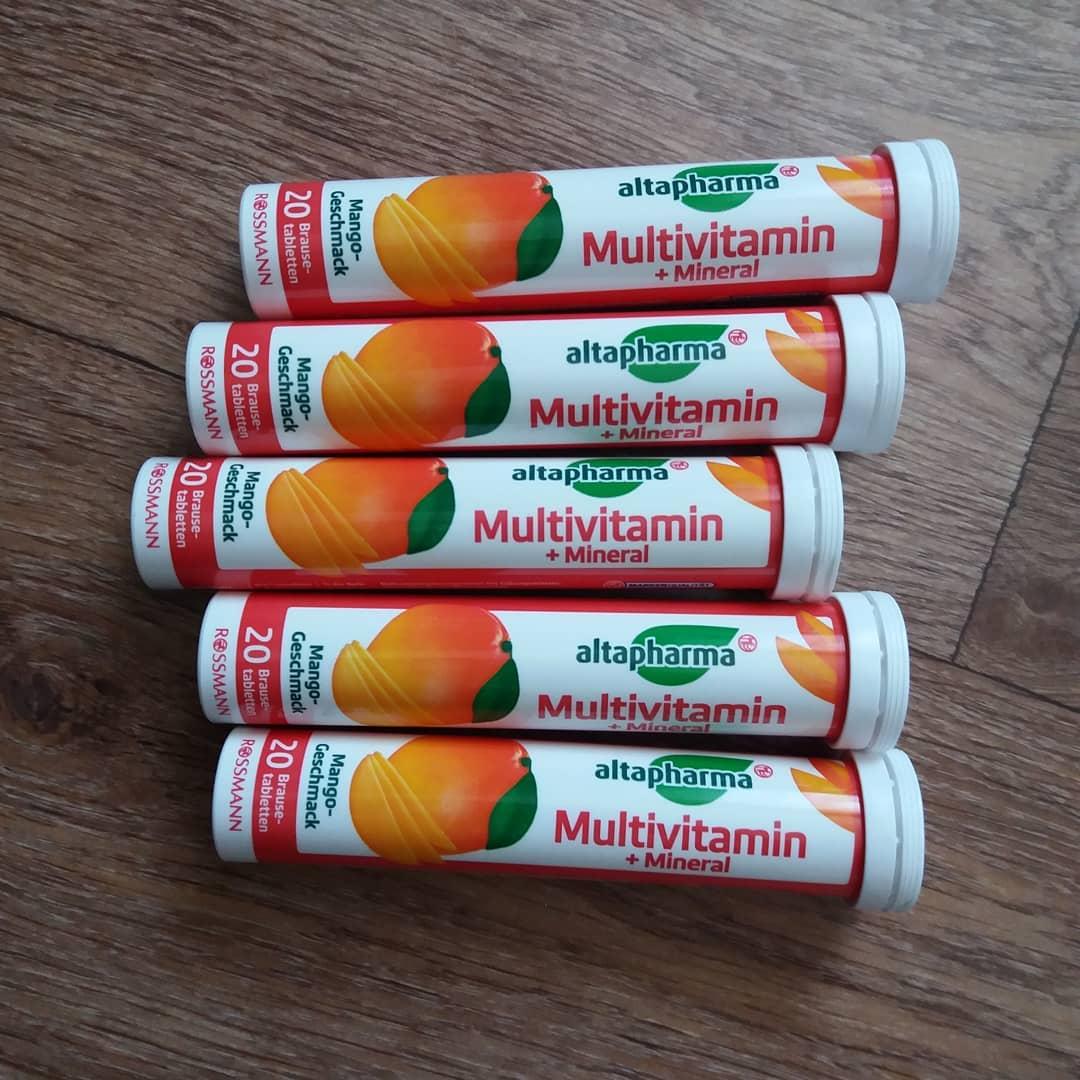 Viên sủi altapharma bổ sung các loại vitamin + khoáng chất hương xoài