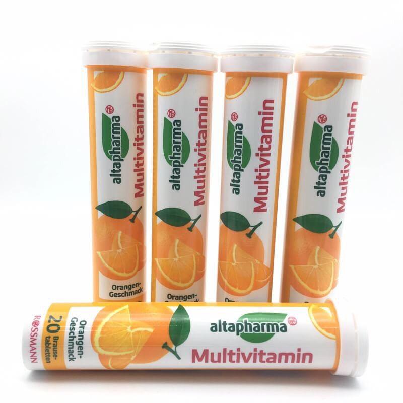 Viên sủi Altapharma vitamin tổng hợp hương cam