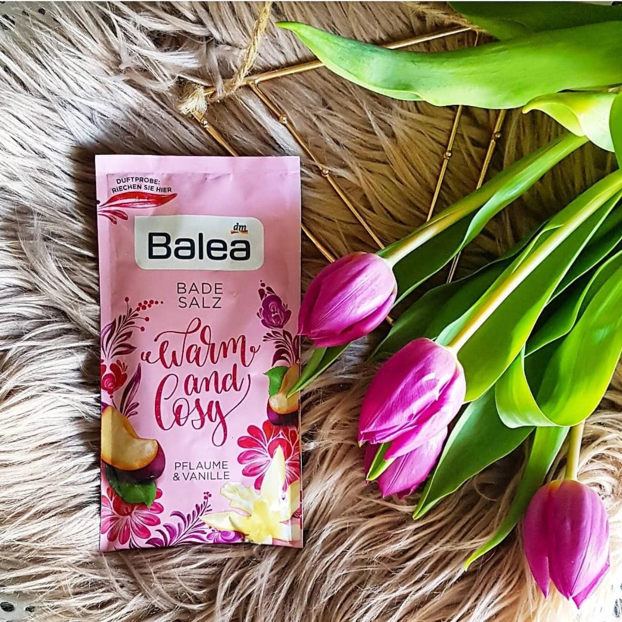 Muối tắm Balea hương hoa mận