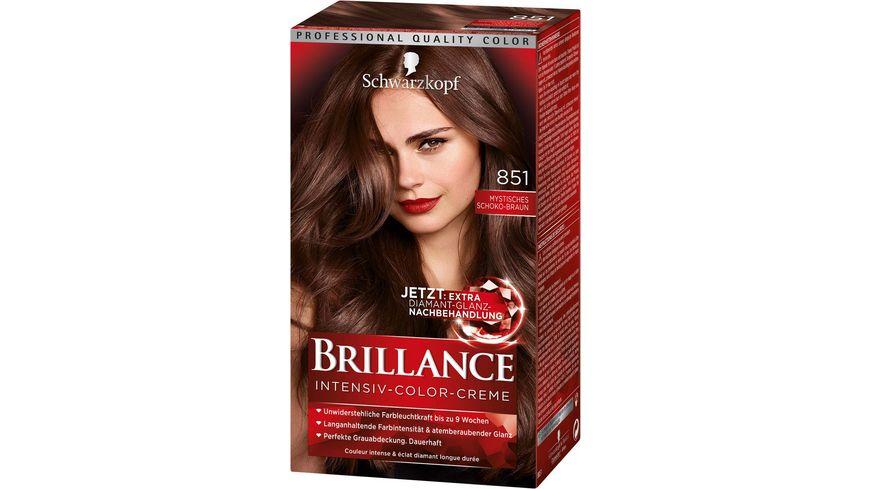 Thuốc nhuộm tóc Brillance  Số 851 - màu nâu socola sáng