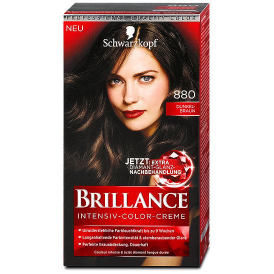 Thuốc nhuộm tóc Brillance Số 880 - màu nâu đen - phủ bạc