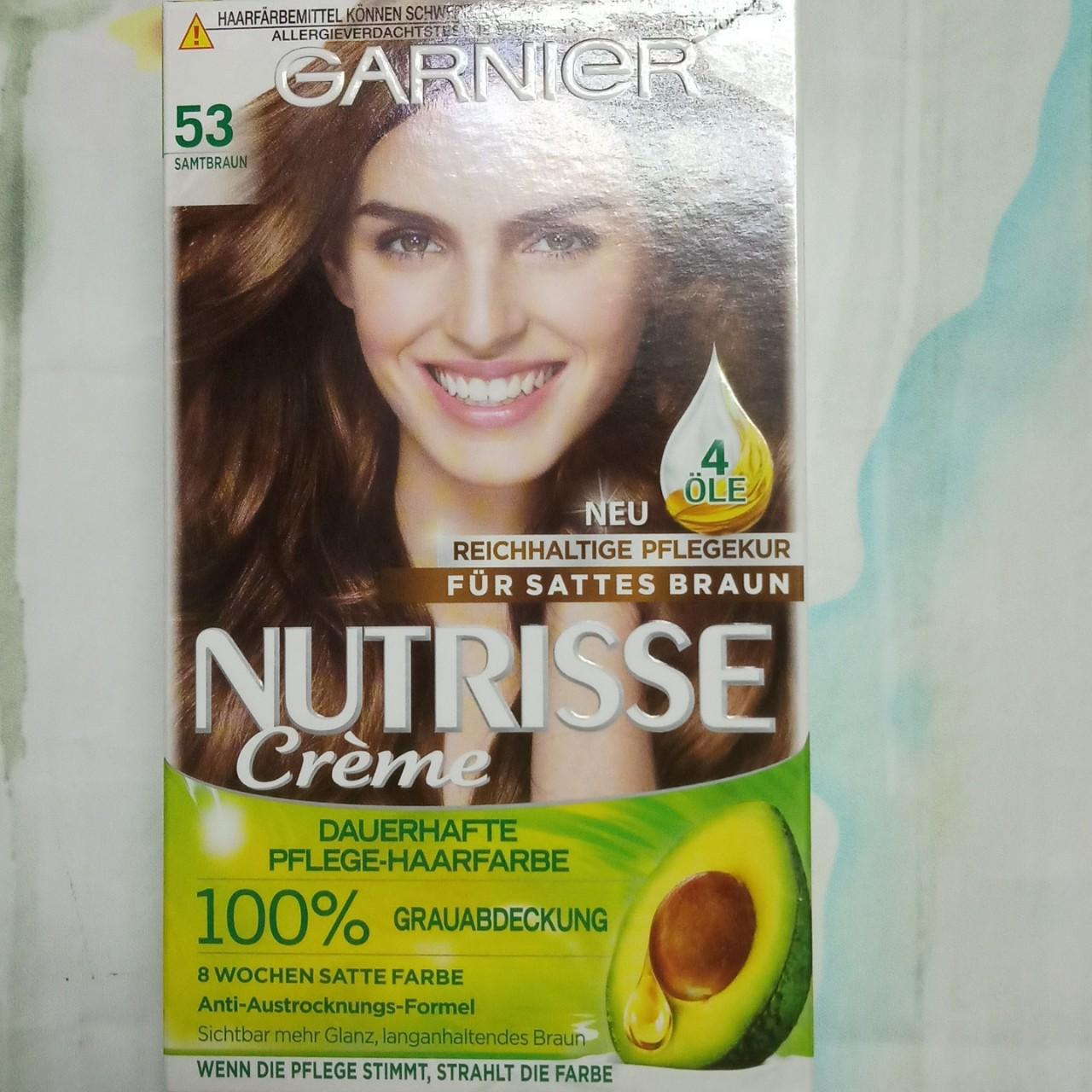 Thuốc nhuộm tóc Garnier Mã 53 - Nâu hạt dẻ