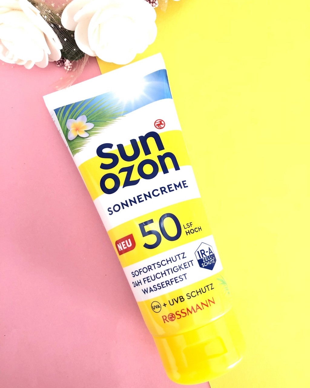 Kem chống nắng Sunozon spf50 dạng kem-sale