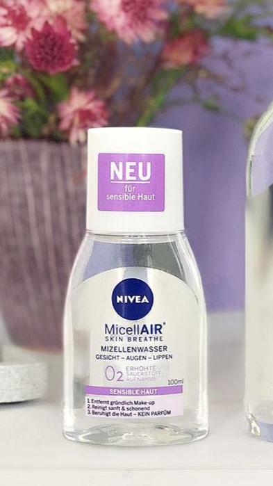 Nước tẩy trang Nivea dành cho da nhạy cảm