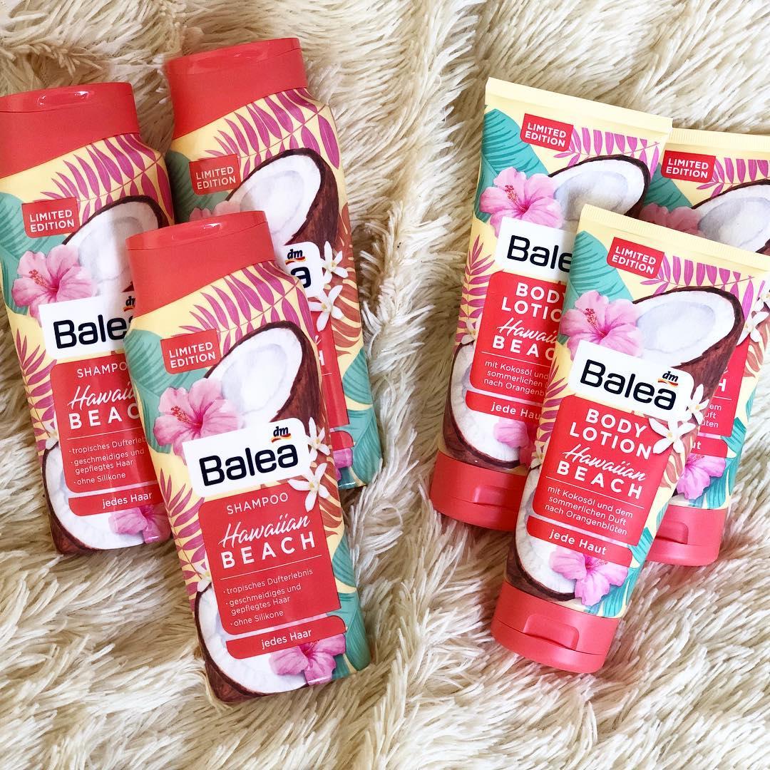 Combo 1 dầu gội+ 1 dưỡng thể Balea hương dừa