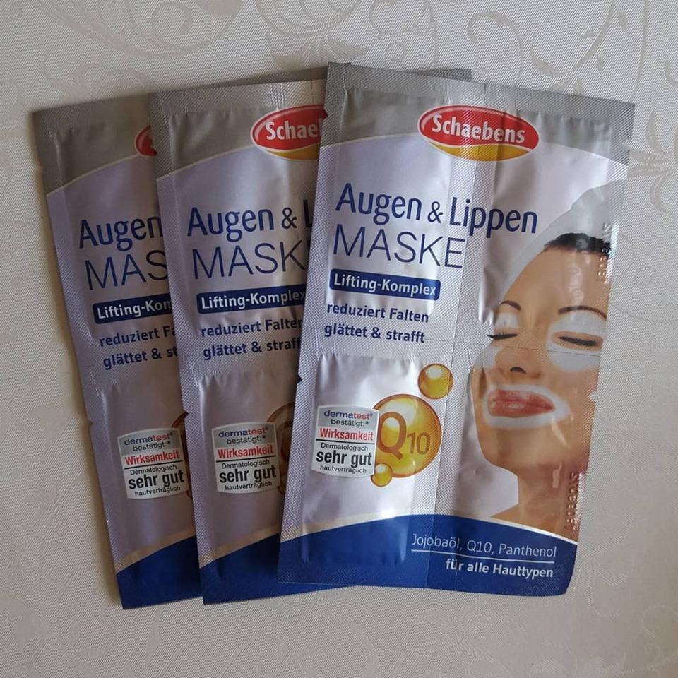 Mặt nạ dưỡng vùng mắt + môi Schaebens