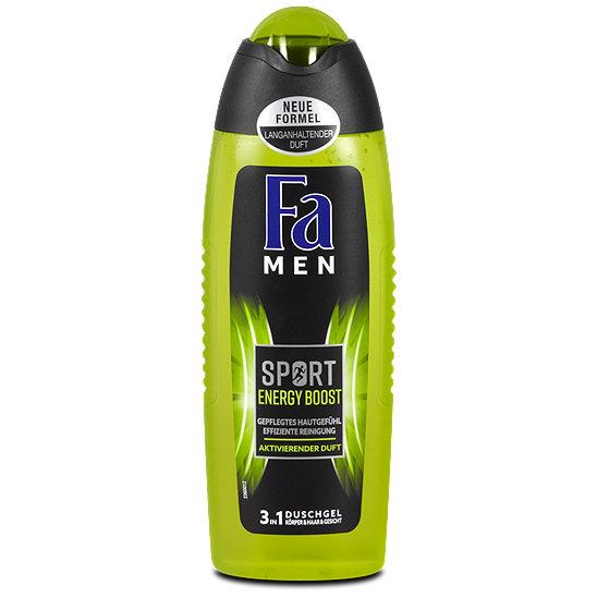 Sữa tắm -gội -rửa mặt 3in1 Fa Men cho người chơi thể thao