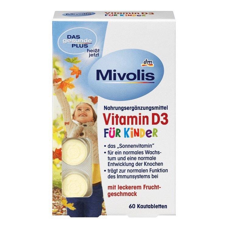 Kẹo ngậm Vitamin D3 cho trẻ em từ 4 tuổi trở lên