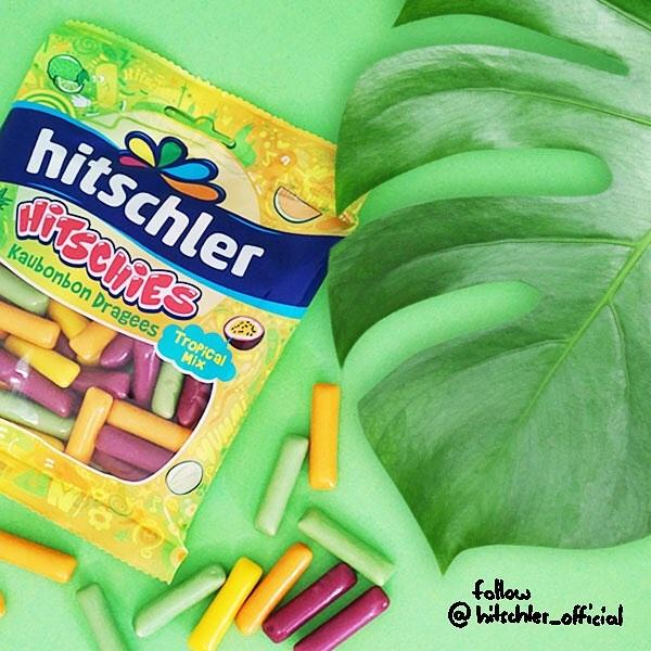 Kẹo dẻo trái cây HITSCHIES bọc vỏ giòn