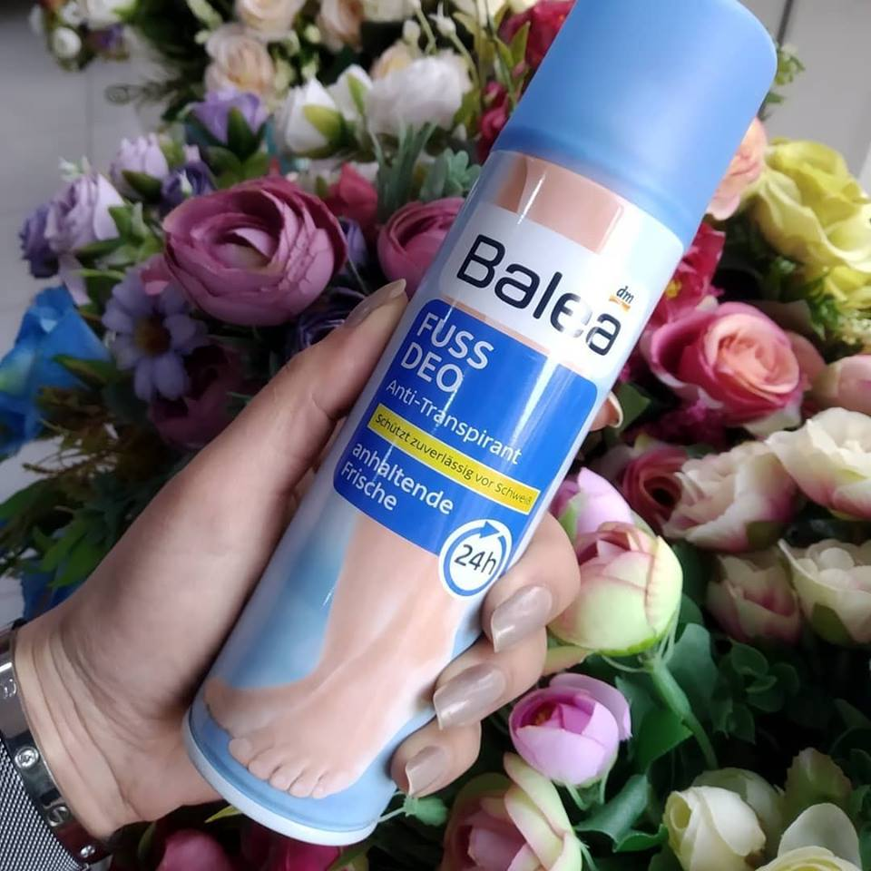Xịt khử mùi chân Balea