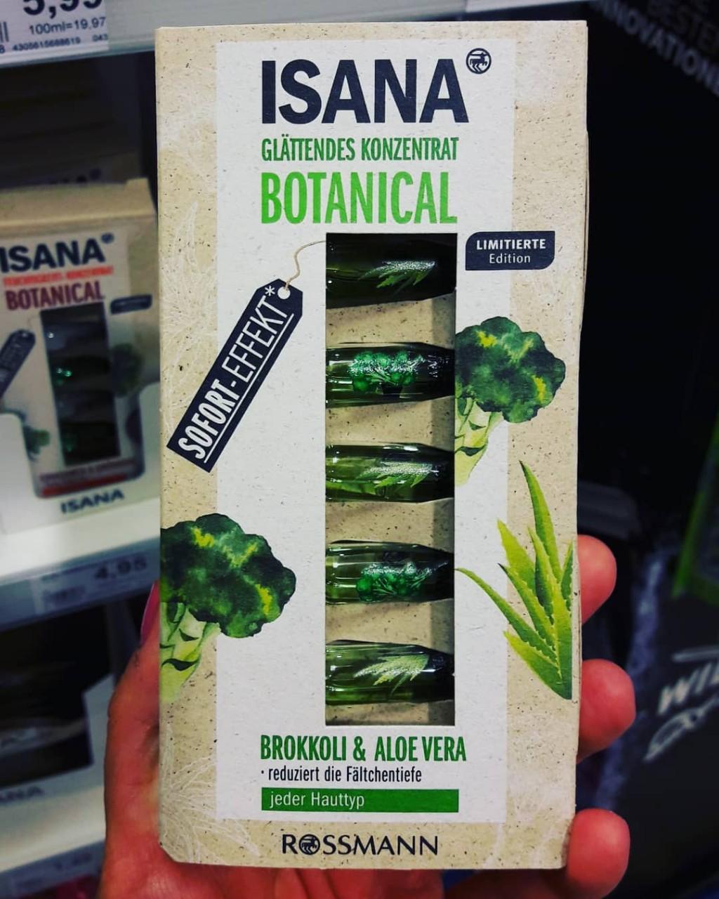 Huyết thanh Isana giảm nếp nhăn và tái tạo da chiết xuất bông cải xanh + lô hội