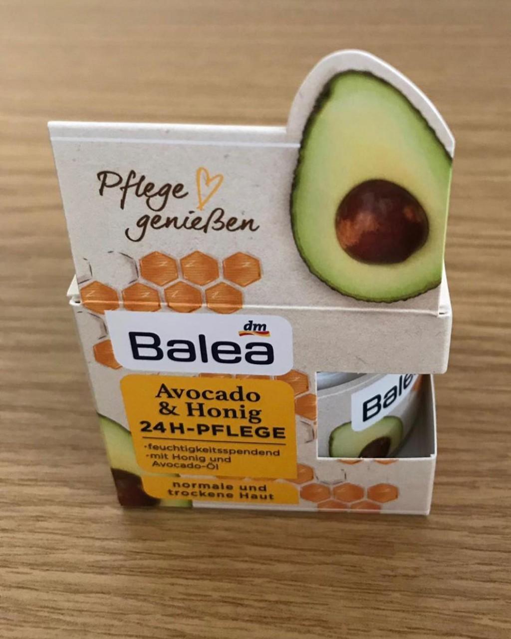 Kem dưỡng da Balea bơ + mật ong dành cho da thường và da khô